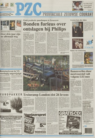 Provinciale Zeeuwse Courant 1999-10-06
