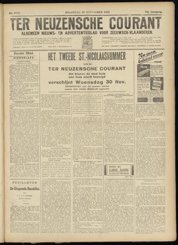 Ter Neuzensche Courant. Algemeen Nieuws- en Advertentieblad voor Zeeuwsch-Vlaanderen / Neuzensche Courant ... (idem) / (Algemeen) nieuws en advertentieblad voor Zeeuwsch-Vlaanderen 1932-11-28