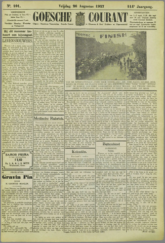 Goessche Courant 1927-08-26