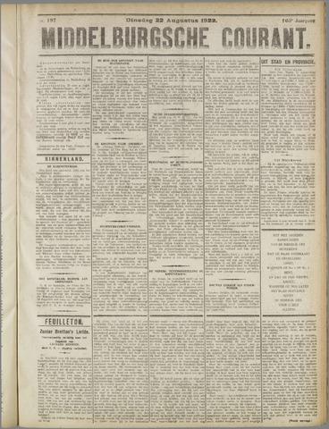 Middelburgsche Courant 1922-08-22