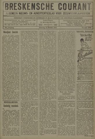Breskensche Courant 1922-10-21