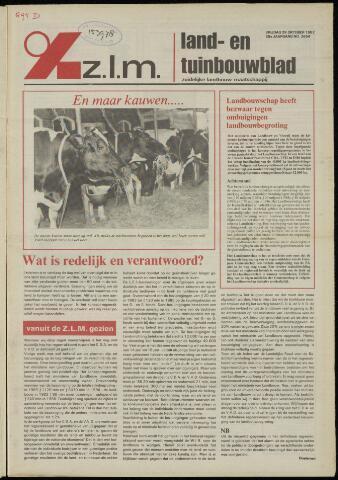 Zeeuwsch landbouwblad ... ZLM land- en tuinbouwblad 1982-10-29