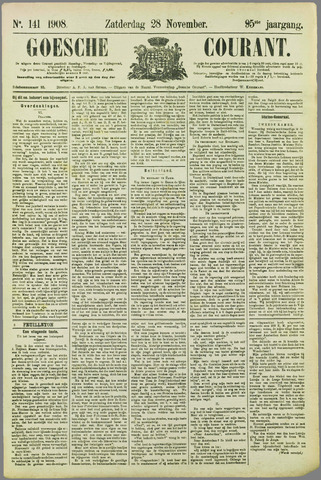 Goessche Courant 1908-11-28