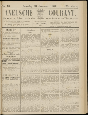 Axelsche Courant 1907-12-25