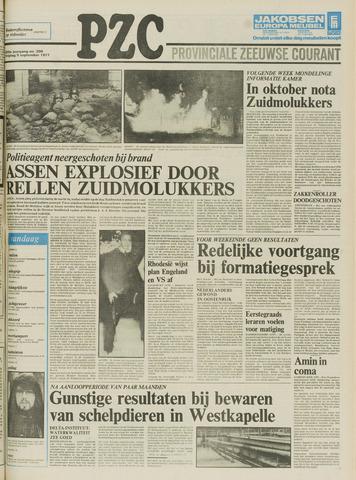 Provinciale Zeeuwse Courant 1977-09-09