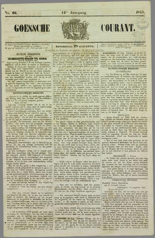 Goessche Courant 1857-08-28