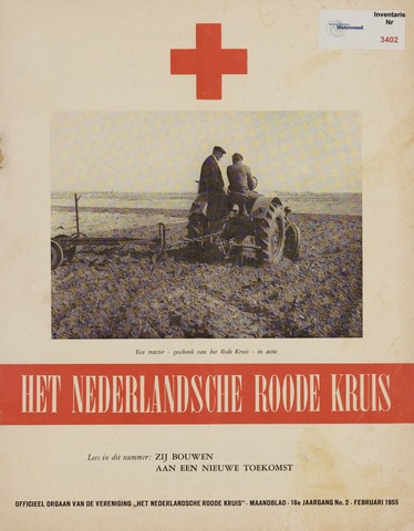 Watersnood documentatie 1953 - brochures 1955