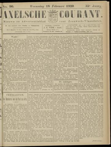 Axelsche Courant 1920-02-18