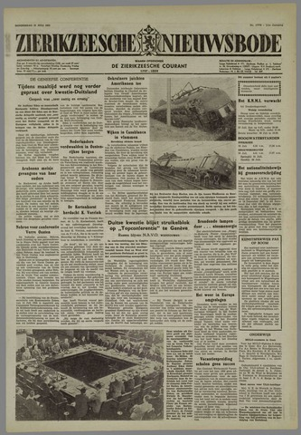Zierikzeesche Nieuwsbode 1955-07-21