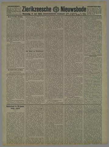 Zierikzeesche Nieuwsbode 1923-07-11