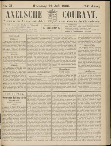 Axelsche Courant 1908-07-22