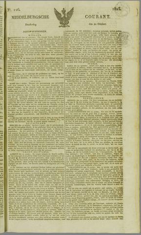 Middelburgsche Courant 1825-10-20