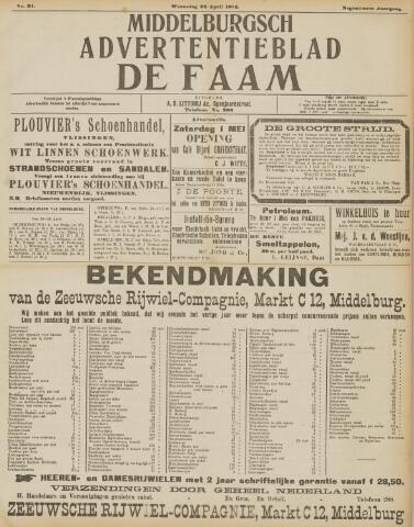 de Faam en de Faam/de Vlissinger 1915-04-28