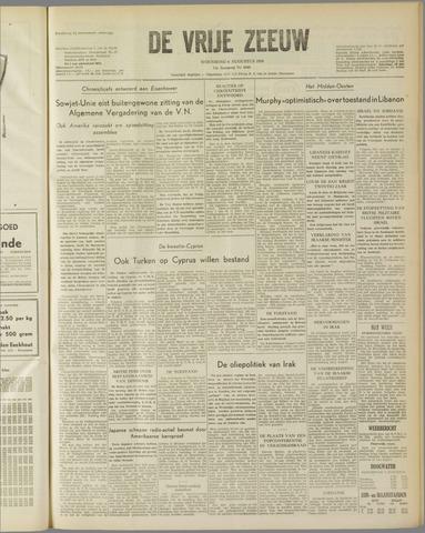 de Vrije Zeeuw 1958-08-06