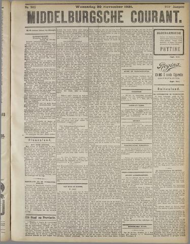 Middelburgsche Courant 1921-11-30