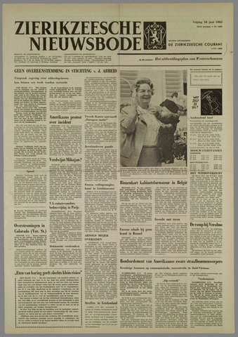 Zierikzeesche Nieuwsbode 1965-06-18