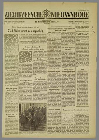 Zierikzeesche Nieuwsbode 1960-10-07