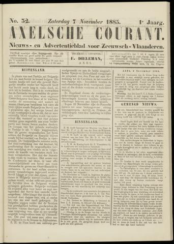 Axelsche Courant 1885-11-07