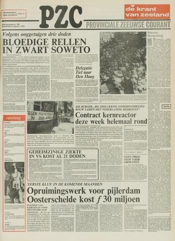 Provinciale Zeeuwse Courant 1976-08-05