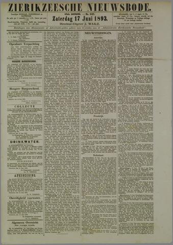 Zierikzeesche Nieuwsbode 1893-06-17