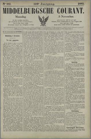 Middelburgsche Courant 1883-11-05