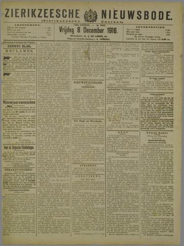 Zierikzeesche Nieuwsbode 1916-12-08