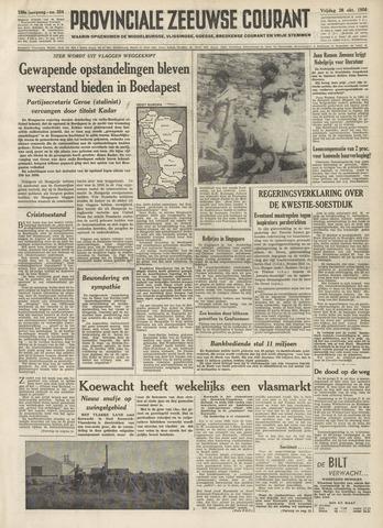 Provinciale Zeeuwse Courant 1956-10-26