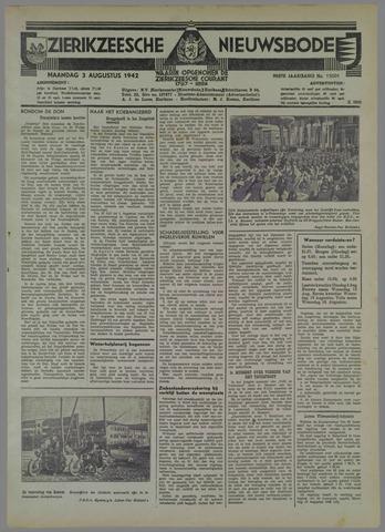 Zierikzeesche Nieuwsbode 1942-08-03