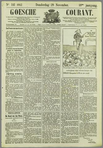 Goessche Courant 1912-11-28