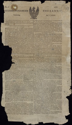 Middelburgsche Courant 1818
