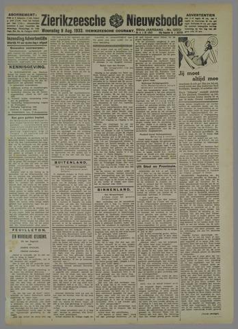 Zierikzeesche Nieuwsbode 1933-08-09
