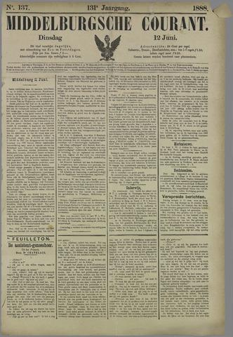 Middelburgsche Courant 1888-06-12