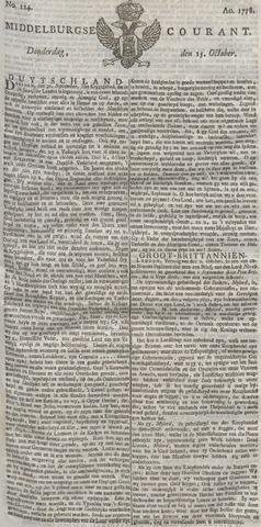 Middelburgsche Courant 1778-10-15