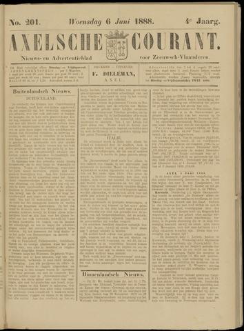 Axelsche Courant 1888-06-06