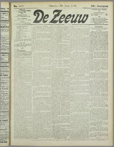De Zeeuw. Christelijk-historisch nieuwsblad voor Zeeland 1918-06-25