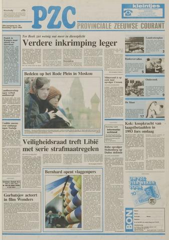 Provinciale Zeeuwse Courant 1992-04-01