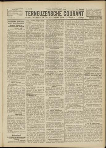 Ter Neuzensche Courant. Algemeen Nieuws- en Advertentieblad voor Zeeuwsch-Vlaanderen / Neuzensche Courant ... (idem) / (Algemeen) nieuws en advertentieblad voor Zeeuwsch-Vlaanderen 1942-09-04
