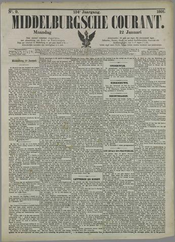 Middelburgsche Courant 1891-01-12