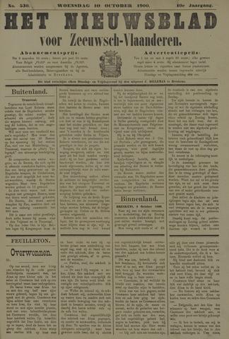 Nieuwsblad voor Zeeuwsch-Vlaanderen 1900-10-10