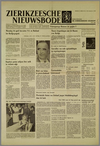 Zierikzeesche Nieuwsbode 1962-04-13