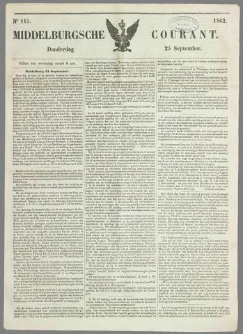 Middelburgsche Courant 1862-09-25