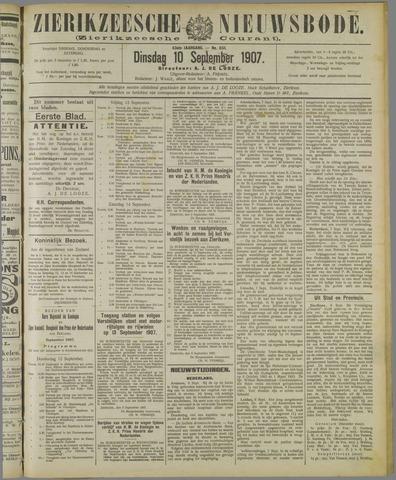 Zierikzeesche Nieuwsbode 1907-09-10