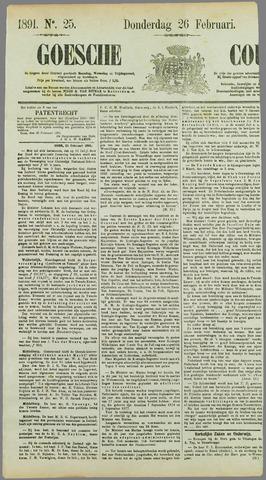Goessche Courant 1891-02-26