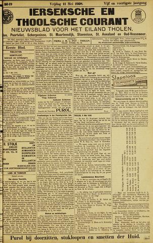 Ierseksche en Thoolsche Courant 1928-05-11