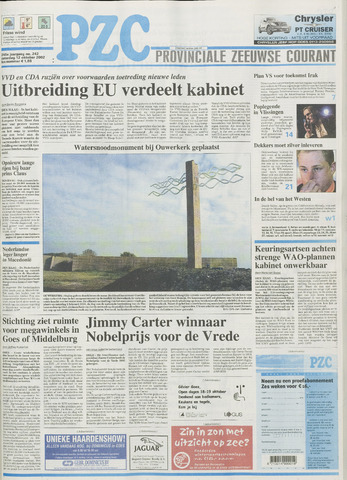 Provinciale Zeeuwse Courant 2002-10-12