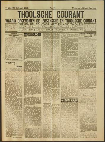 Ierseksche en Thoolsche Courant 1942-02-20
