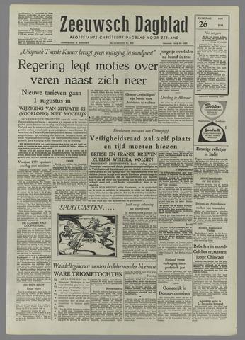 Zeeuwsch Dagblad 1958-07-26