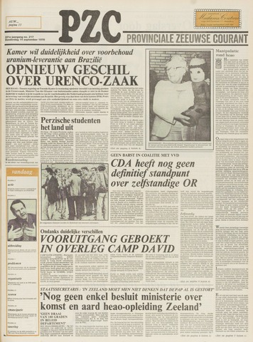 Provinciale Zeeuwse Courant 1978-09-14