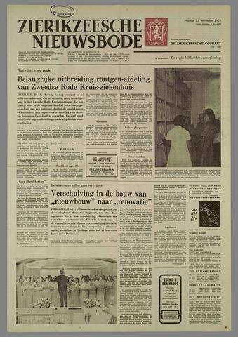 Zierikzeesche Nieuwsbode 1975-11-25