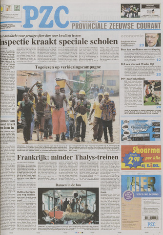 Provinciale Zeeuwse Courant 2005-04-21
